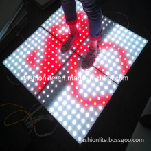 LED Dance Floor Can Play Games and Flash, Interactive Dance Floor