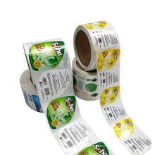 Factory Price Custom Stickers Printing Label Adhesive Plastic Sticker Paper By Roll