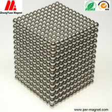 Sphere NdFeB Permanent Neodymium Magnet with Ni Coating