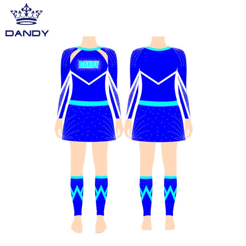 cheerleading custom apparel