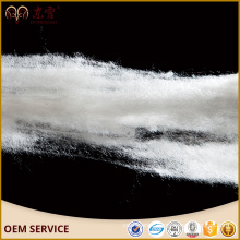 dehaired wool fiber white colour 32mm-38mm inner mongolia