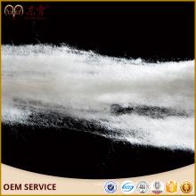 dehaired шерсти волокна белого цвета 32мм-38мм внутренняя Монголия