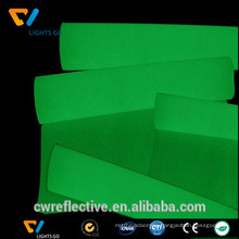 glow in the dark photo luminescent vinyl film taoe for safety signage