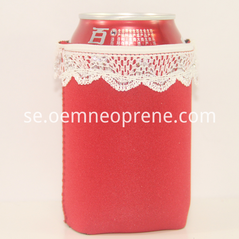 wedding lace can holders