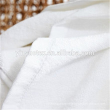 five star pure white china hooded towel