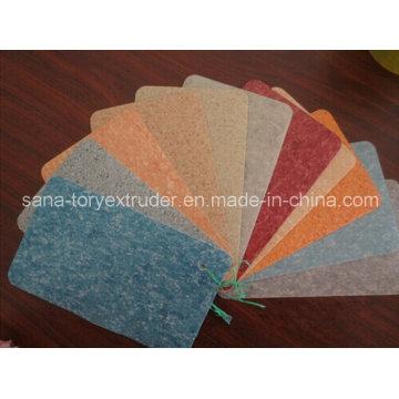 Suelo plástico del PVC para el hogar / la escuela / el hospital / el centro comercial