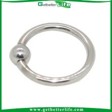 Amour anneau captif de perle de verrouillage Piercing sur la lèvre anneau