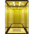Elevador de passageiros bem decorado com espaço para poupar espaço sem sala de máquinas
