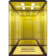 Customized Vvvf Passenger Elevator with Fine Lift Car Decoration