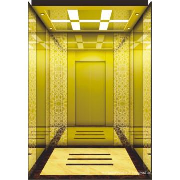 Machine sans chambre de l'ascenseur de passagers du fabricant chinois qualifié