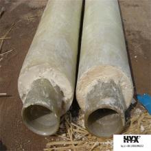 Полиуретановый Материал принимает frp трубы для системы теплоснабжения города и завода