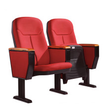 auditorium chair with writing pad and armrest