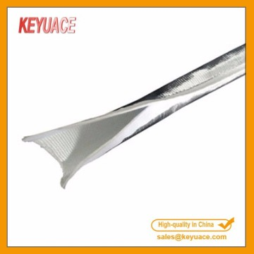 Aluminized Hook and Loop Fastener Sleeving