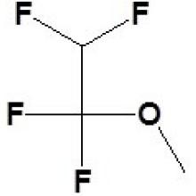 1, 1, 2, 2-tétrafluoroéthyl méthyl éther N ° CAS 425-88-7