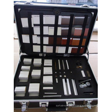 Boîtes d'échantillons en voûtes en bois (SGD-S-5143)
