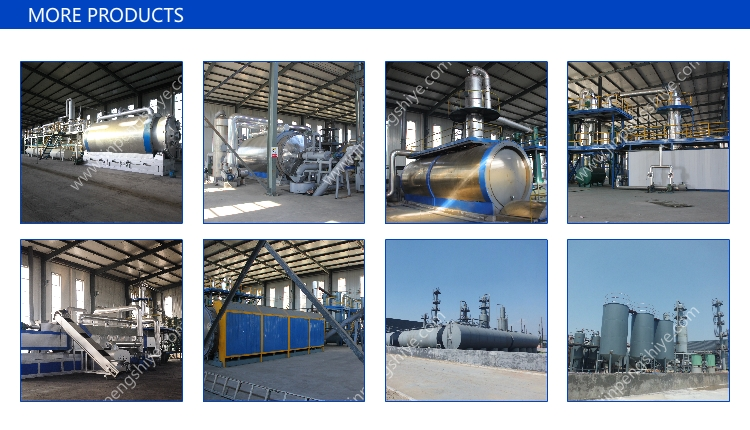 Waste Plastic Oil Purifier Plant