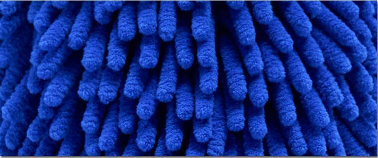 Weft Coral Fleece Microfiber Towel لتنظيف السيارات