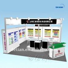 Shanghai trade show display exhibition booth custom free 3d booth design and production
