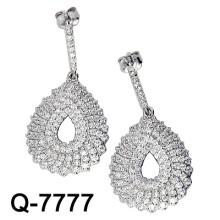 2015 Последние стили Серьги 925 серебряных украшений (Q-7777. JPG)