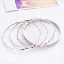 2015 Classic Design Multilayer Metal Bangle For Costume Party