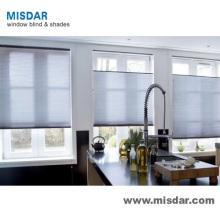 Traitement de fenêtre 25 mm Shades plissés