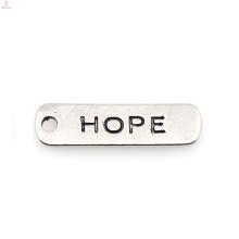 Afrikanischer Schmuck billig benutzerdefinierte Hoffnung Charm Schmuck
