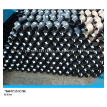 Bw Seamless 90deg Pipe Elbow Mild Steel Pipe Fittings