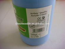 500ml waterproof paint for fabric, industrial acrylic paint, fast drying acrylic paint, EN71-3,EN71-9