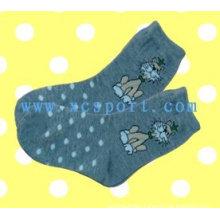 Knitted cotton children socks