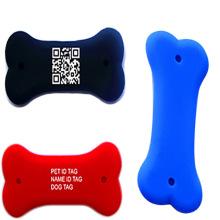 Etiquetas personalizadas de silicone para animais de estimação