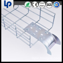 galvanized steel wire mesh cable tray with threaded rod(ce,rohs,sgs certificated)