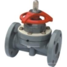 ХПВХ мембранный клапан, ПВХ мембранный клапан, пластиковый мембранный клапан (G41F-6S)