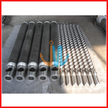 Single barrel screw for HDPE, LDPE,LLDPE blow molding machine