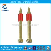 Hochgeschwindigkeitsstifte / Schießnägel mit weicher Kunststoffscheibe