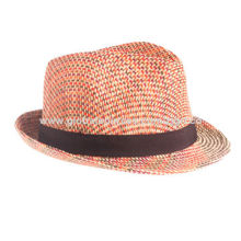 Cowboy paper straw hat, made of 100% paper straw