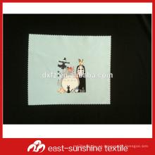 Jiangsu paño personalizado para la limpieza de joyería, jiangsu impresión digital paño de microfibra para la limpieza de joyería
