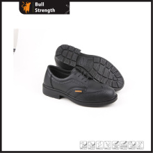 Office Leather Safety Shoes with Composite Toe and Kevlar (SN5280)