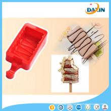 Stripe Shape Food Grade Silicone Ice Cream Mould