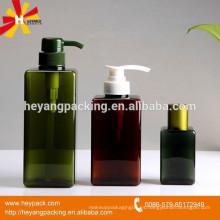 Botella de plástico dispensador de jabón de manos