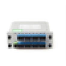 1x16 Cartouche de cassette LGX de haute qualité Insertion de la diviseur d'automate 1 * 16 16 ports Fiber Optical PLC Splitter