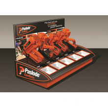 Magasin de détail Robuste Table Top Métal Custom 5 Pieces Cordless Fasten Tool Ou Drill Display Racks