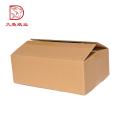 Vente chaude logo personnalisé créatif grand emballage de papier de boîte jetable