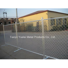 5*5cm PVC Coated Galvanized Chain Link Fence for Guard, Wire Mesh Fence Panel, Temporary Fence Panel