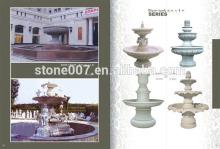 2015 Custom Designs garden marble water fountain