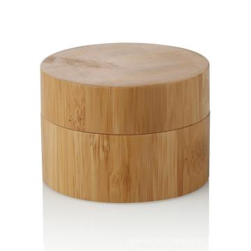 15/20/25/30/50 / 100ml soin personnel bambou pot en gros
