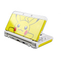 Glossy Protector Cover Plate Case Housing Shell for Pokemon Pikachu Case For Nintend NEW 3DS Console