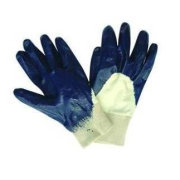 Customized Safety Puncture Resistance Industrial Protective Gloves With Knitted Cuff