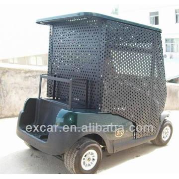 Дешевые электрический упаковка тележка шарика 2 мест электрическая тележка гольфа