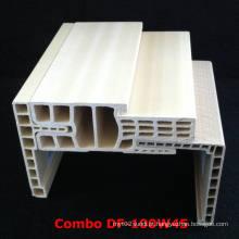 Quadro de porta combinado WPC Df-100W45 WPC Architrave at-80h60
