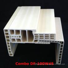 Marco combinado de la puerta de WPC Df-100W45 WPC Architrave at-80h60